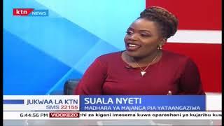 SUALA NYETI: Ulinzi wa wanyama nchini Kenya - [Part 2] -   JUKWAA LA KTN