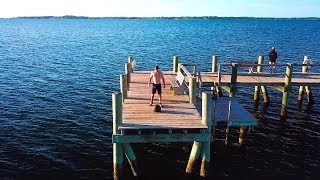 CrossFit Dock Workout - Tabata D-ball Cleans (90lb/41kg)