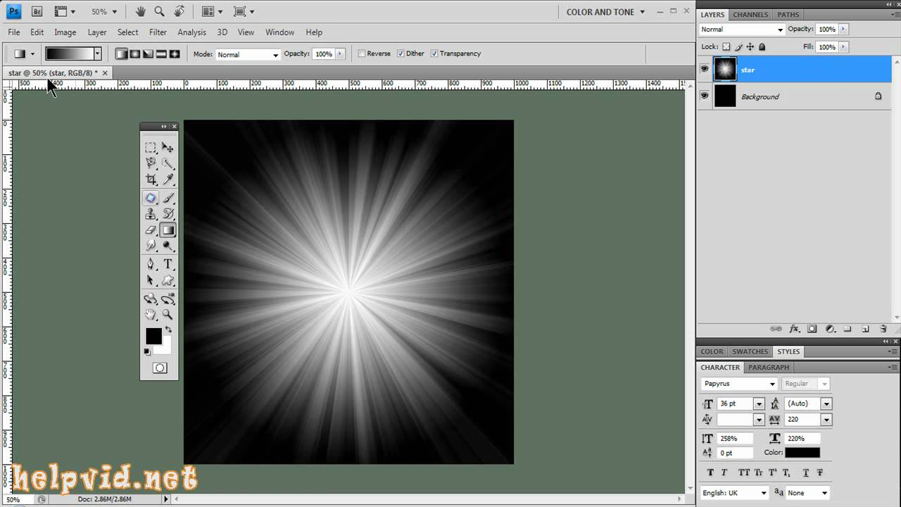 how to create reflection in photoshop 7.0