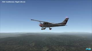 FSX California Flight Movie