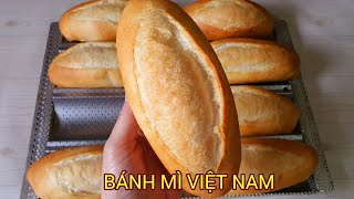 Cách làm bánh mì Việt Nam nhanh,không phụ gia