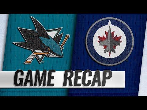 Pavelski scores OT winner for Sharks against Jets
