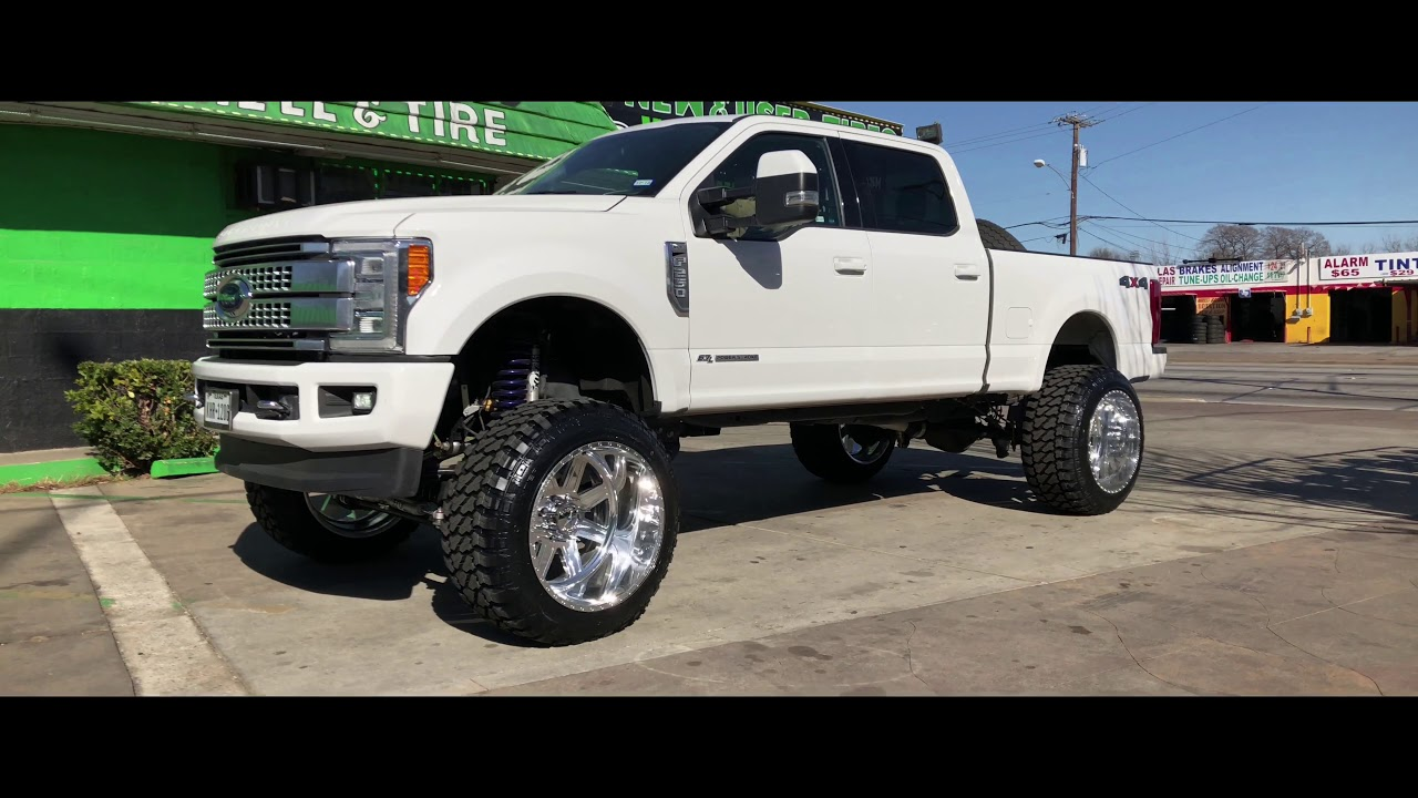 2017 FORD F250 On American Force Wheels - YouTube