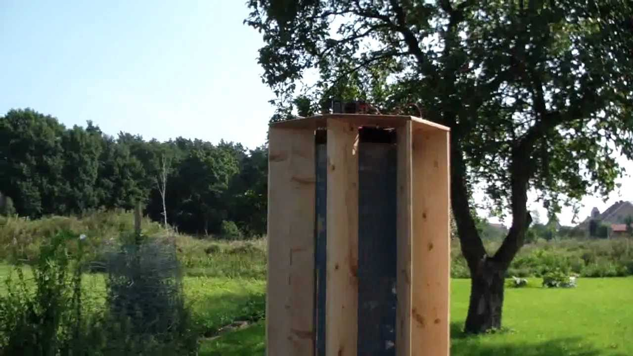 Windrad Generator Eigenbau Teil 7 Test Auf Vertikalem Windrad