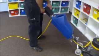 Encapsulation cleaning a Classroom
