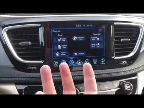 2017 Chrysler Pacifica Hybrid Interior Review