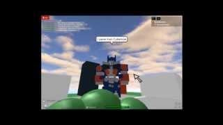 Epic Rap Battles of ROBLOX #2 Spongebob & Patrick Vs. Optimus Prime