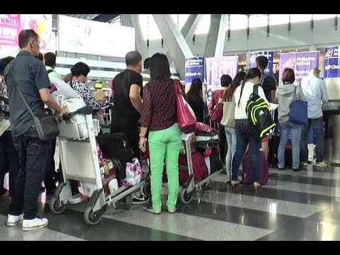 MIAA cautions travellers to be watchful as passengers surge in naia during long holiday
