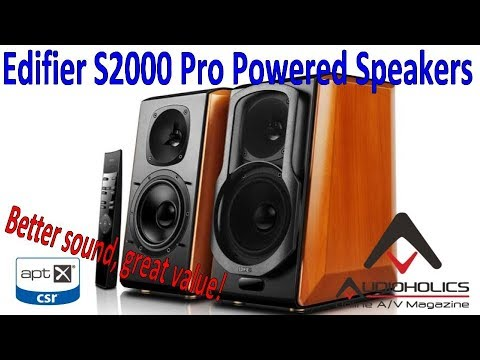 Edifier S2000 Pro Wireless Powered Speaker Review