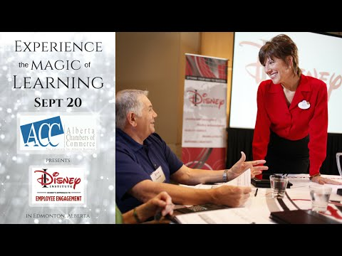 Disney's Approach To Employee Engagement Sept 20 Edmonton