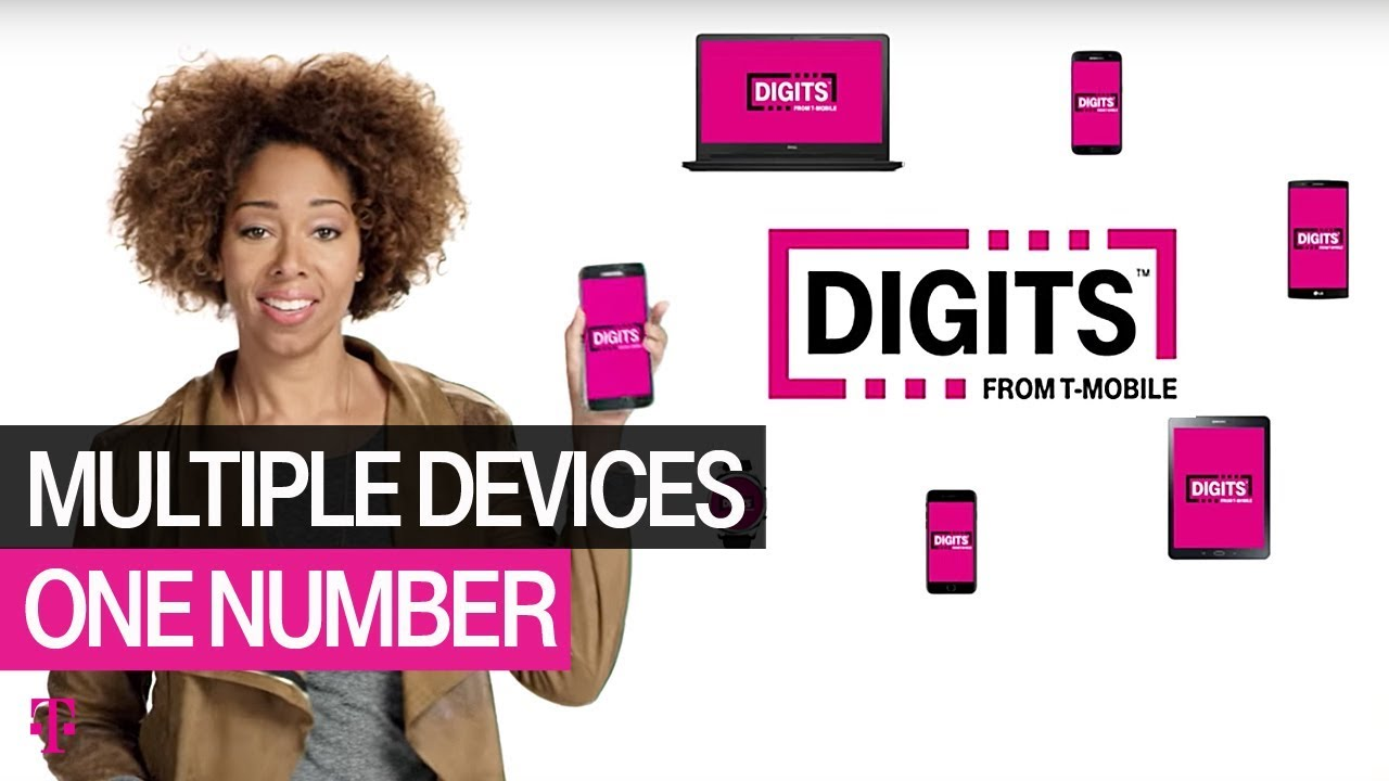Digits Multiple Devices One Number T Mobile Youtube 10 Digit 137
