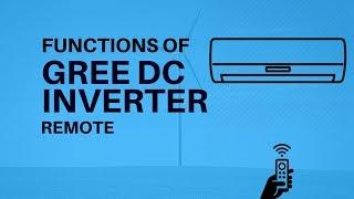 Gree Inverter Air Conditioner Full Remote Functions | Urdu - Hindi