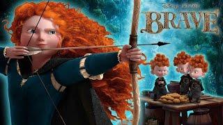 Brave Disney - Merida Waleczna - أسطورة مريدا -  メリダとおそろしの森 - Храбрая сердцем - part 1 walkthrough