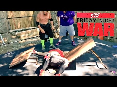 DOUBLE ATTITUDE ADJUSTMENT THROUGH A TABLE! NUMBER 1 CONTENDER MATCH!