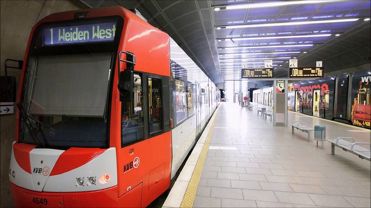 Kvb Linie 1 Haltestellen Fahrplan
