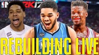 NBA 2K17 Rebuilding MyLeague Live!