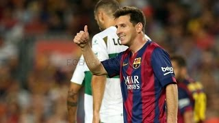 Barcelona vs Elche 3-0 All Goals & Highlights 24.08.2014
