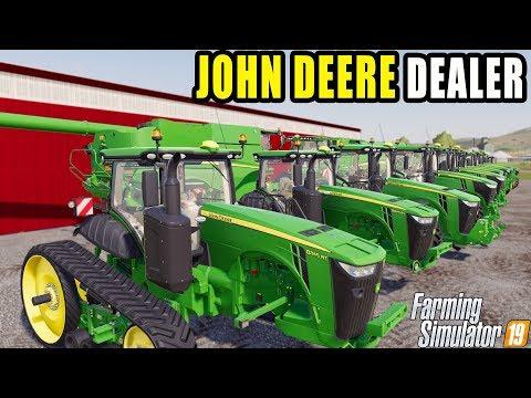 A JOHN DEERE DEALERSHIP IS IN RAVENPORT! | FARMING SIMULATOR  2019