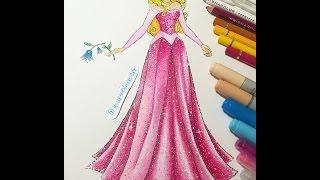 Princess #3: Adding Colour to Aurora