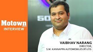 Interview with Vaibhav Narang | BusWorld India 2018