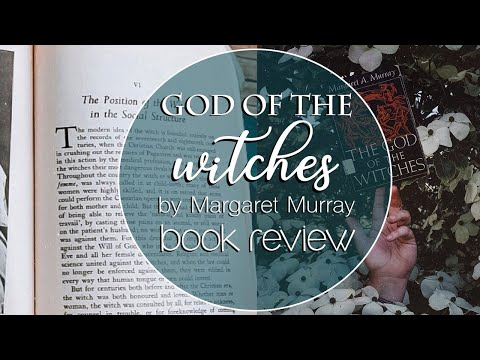 God of the Witches by Margaret Murray { book review }