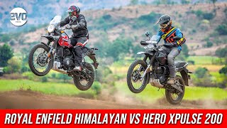 Royal Enfield Himalayan vs Hero Xpulse 200 | Off Road Comparison test