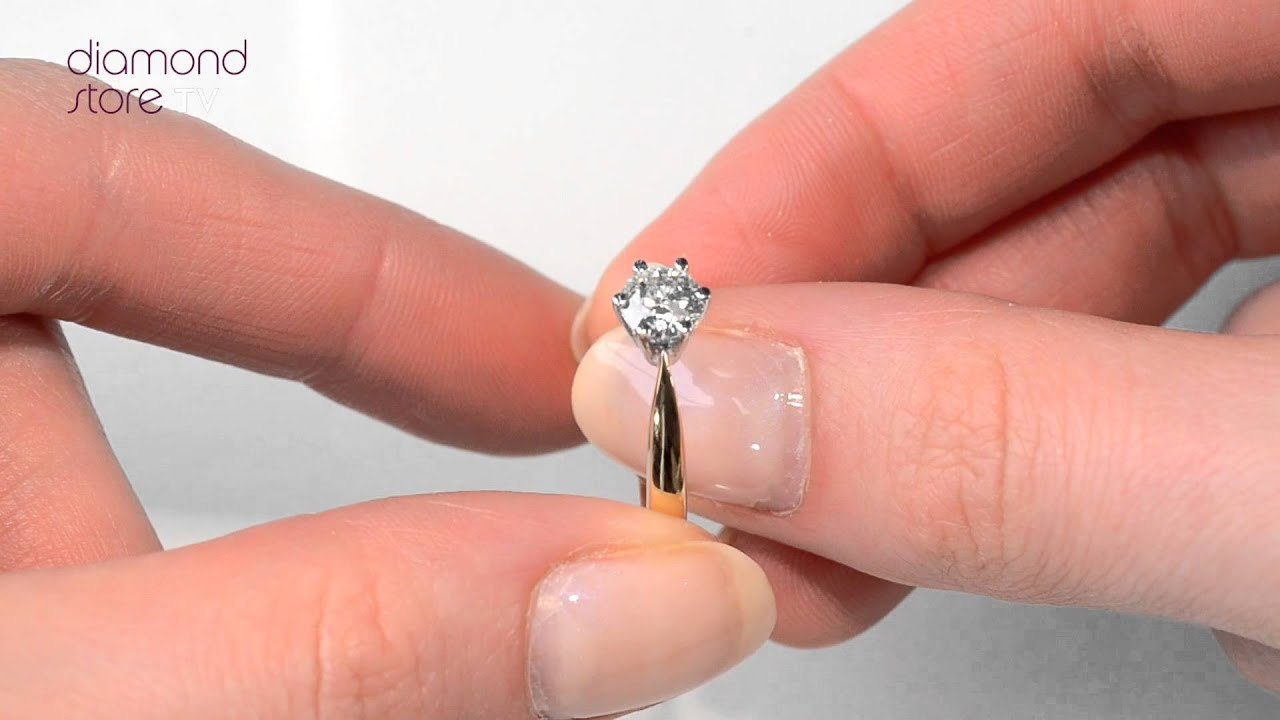 Diamond Halo Rings at jewelryexchangecom