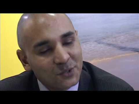 Jean Marc Flambert, Director of Marketing, UK & Europe St Lucia Toursim @ ITB Berlin 2011