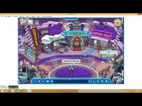 Club Penguin how to go to shadow dojo 2015