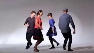 Oberek lekcja tańca nr 2 - podskakiwanie w rytmie oberka