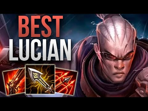 BEST LUCIAN IN THE WORLD SHOWS YOU HOW TO CARRY | CHALLENGER LUCIAN ADC GAMEPLAY | Patch 9.17 S9