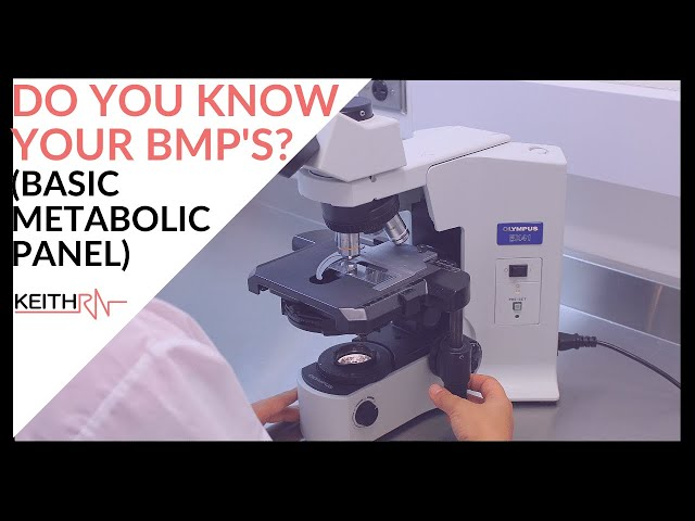 Do you Know Your BMP's (Basic Metabolic Panel)?