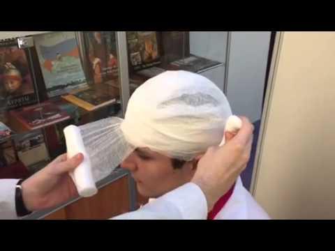 Как делать шапочку гиппократа
