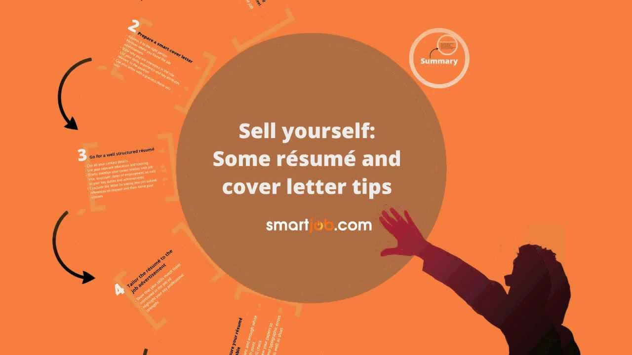 sell yourself some resume and cover letter tips