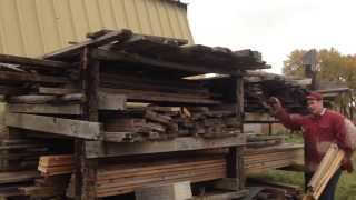 Homestead Lumber Dry Outside?