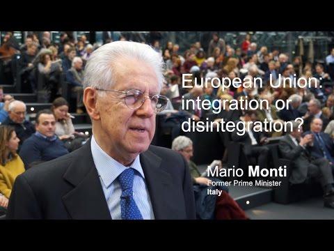 EU: integration or disintegration?