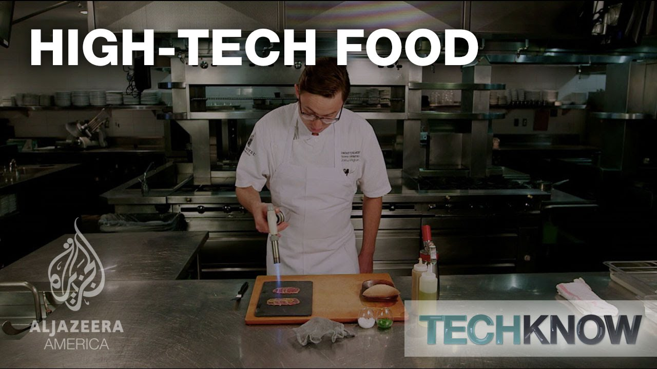high tech food techknow youtube. Black Bedroom Furniture Sets. Home Design Ideas