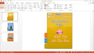PowerPoint training |How to Make Slideshows Menu Animation Text, Images and Videos at Ms Powerpoint