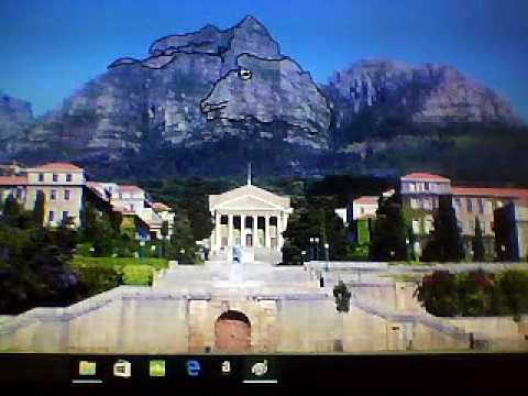 Africa's Mountains At CapeTown University Are Giant Carvings Of Dinosaurs, Crocs, Humans!