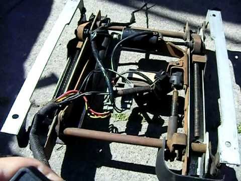 94 Mustang Driver Power Seat Track And Switch Video For