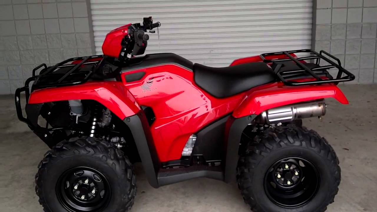 2014 Foreman Es 500 Sale At Honda Of Chattanooga Tn Trx500fe2e Power Steering Youtube