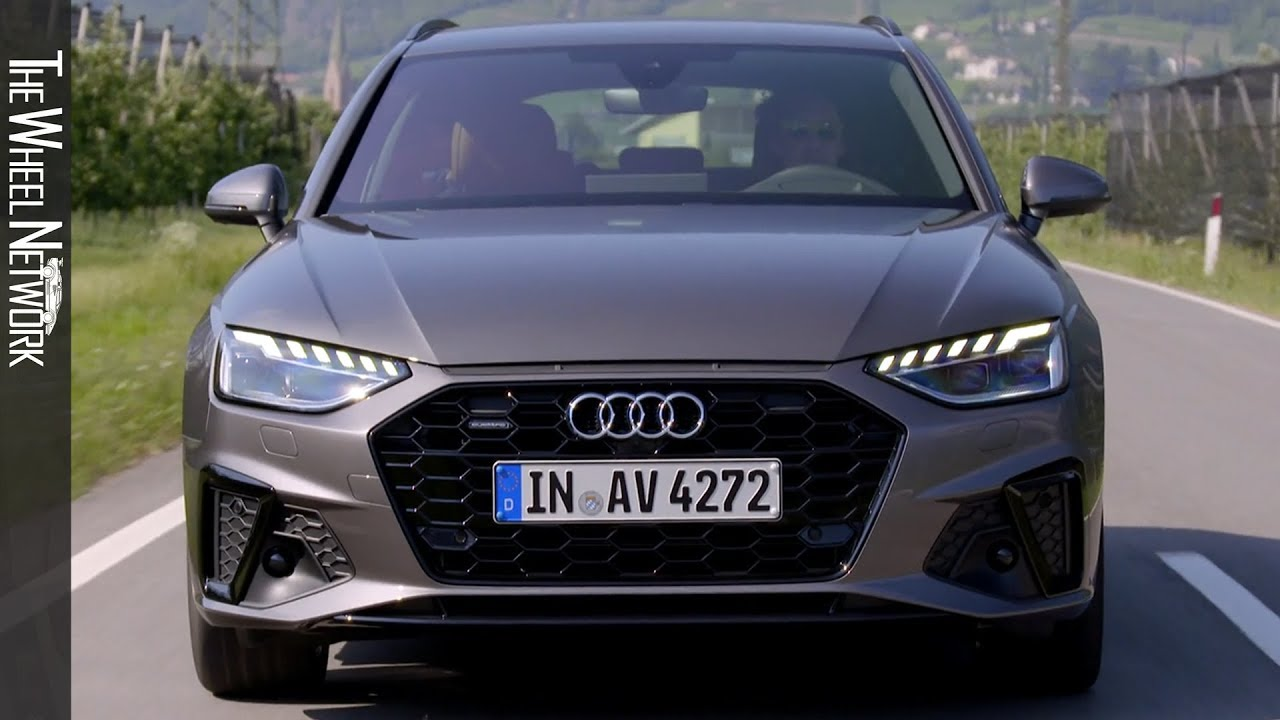 2020 Audi A4 Avant 40 Tdi Terra Grey Driving Interior Exterior Youtube