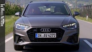 2020 Audi A4 Avant 40 TDI | Terra Grey | Driving, Interior, Exterior