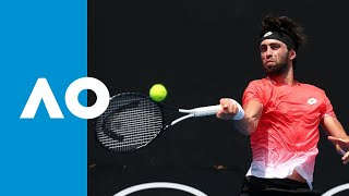 Nikoloz Basilashvili v Stefano Travaglia match highlights (2R)