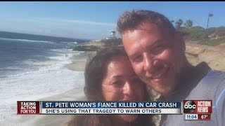 St. Pete woman's fiance killed in car crash