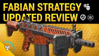 Destiny Taken King: Fabian Strategy Exotic Review v.2