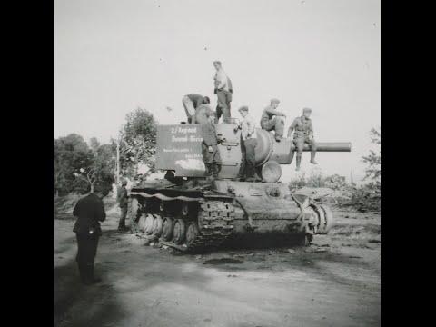 Подбитые советские танки, техника, артиллерия  1941 год