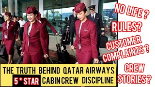 THE TRUTH BEHIND QATAR AIRWAYS CABIN CREW DISCIPLINE |THINGS  NOT ALLOWED TO DO |SURPRISING RULES