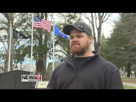 Veterans protest flag removal from Massachusetts college