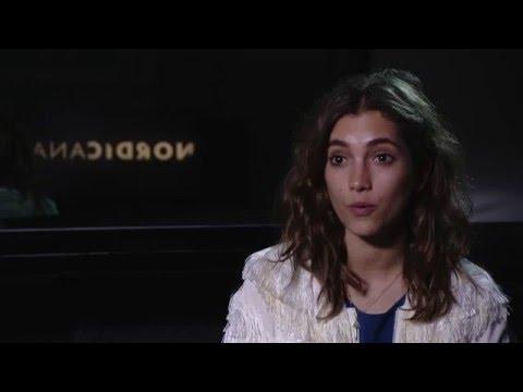 Sarah Sofie Boussnina Interviewed at Nordicana 2015